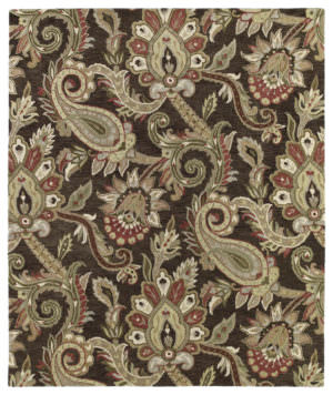 Kaleen Helena Collection 3204-40 Chocolate Rug