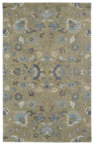 Kaleen Helena Collection 3208-82 Lt. Brown Rug