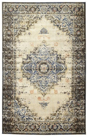 Kaleen Tiziano Collection TZA02-17 Blue Rug
