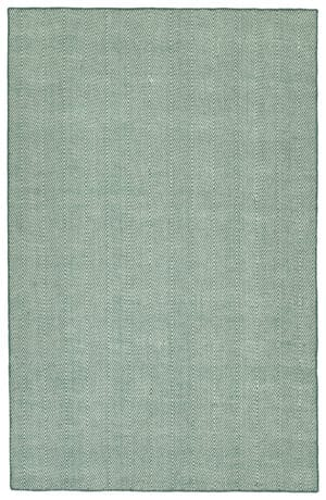 Kaleen Ziggy Collection ZIG01-91 Teal Rug